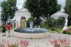 эскиз фонтан